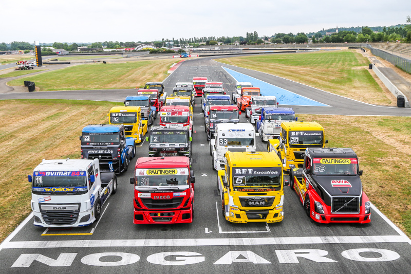Grand Prix Camion Nogaro 2017 - Photo de groupe